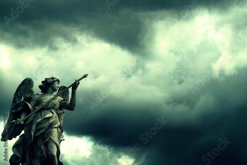 Leinwanddruck Bild angel