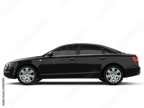 Black Business-Class Car