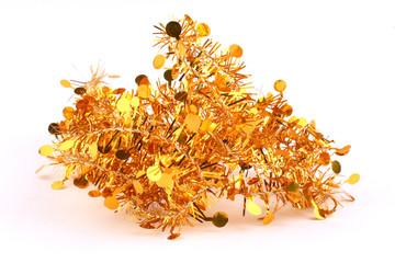 bunch of gold garland