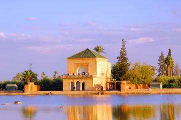 Morocco, Marrakech: Menara garden