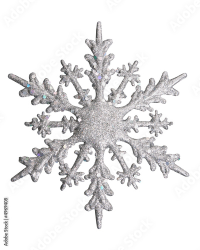 white snow flake