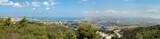 Panorama of Haifa city, Israel poster