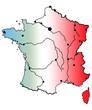 France, villes et fleuves