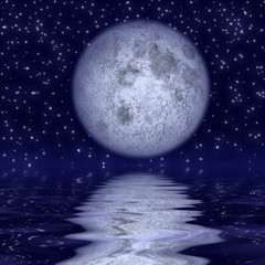 Beautiful moonlight