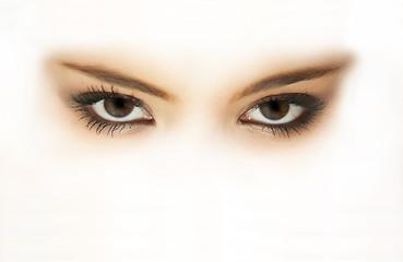 regard de brune