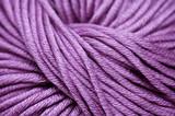 Lilac cotton yarn poster