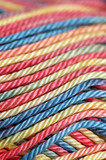 Colorful cotton yarn poster