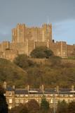 Dover castle at sundown poster