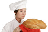 Chef Series - Admiring Bread poster
