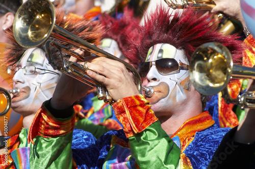 Tuinposter Carnaval Guggemusik