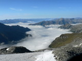 Inversion clouds in Mountains (Alps, Austria)