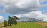 Futuristic Eco Dome poster
