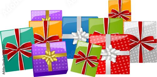 Paquets cadeaux de no l de choucashoot fichier vectoriel libre de droits 50 - Paquets cadeaux noel ...