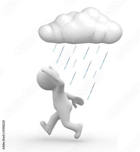 kłopoty z deszczem