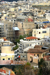 Old city of Athens in Autumn - Greece