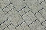 Pavement bricks texture poster
