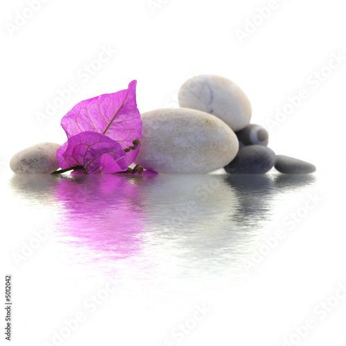 Leinwandbild Motiv décor zen