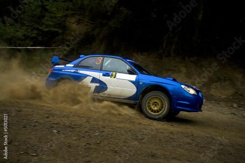 Foto op Canvas Snelle auto s Rally