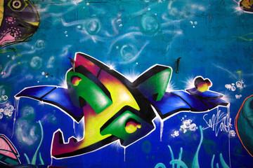 Stunning graffiti