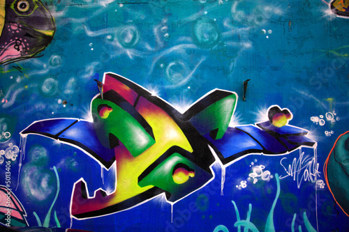Stunning graffiti Poster