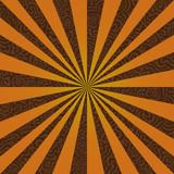 Burst on a Swirly Background poster