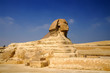 famous Sphinx of Giza, Egypt