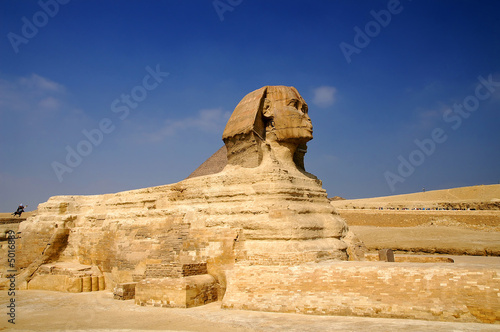 Poster Egypte famous Sphinx of Giza, Egypt