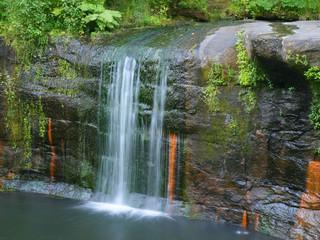 Waterfalls on Wolf Creek in Banning State Park, Minnesota