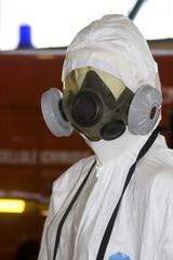 Pompiers Protection chimique