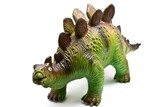 Dinosaur toy isolated on white poster