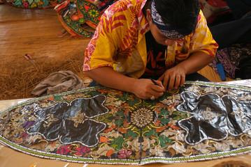 Traditional kite maker