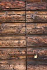 Porta antica romantica