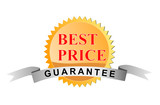 Best price guarantee icon poster