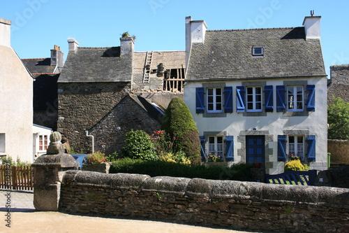 Maison traditionnelle bretonne guimiliau finist re de bobroy20 photo lib - Maison traditionnelle bretonne ...