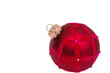 Red Christmas Tree Ornament