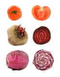 vegetables (available separately larger) poster