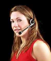 We are waiting for your call lady operator