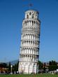 Leinwanddruck Bild - Tower of Pisa