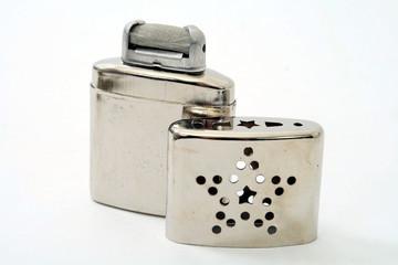 Handwärmer Taschenofen für Feuerzeugbenzin