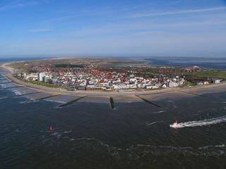 Luftaufnahme Insel Norderney