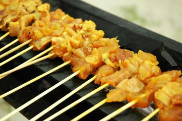 Malay Delicacy - Satay Cuisine