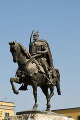 Skenderbey statue, Tirana