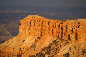 Sunset over Bryce Canyon National Park