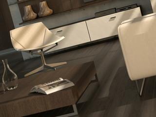 modern interior detail