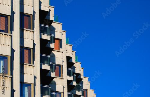 City house windows