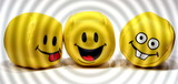 Party Smilies poster