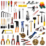 Fototapety large page of tools on white background