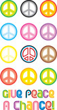 Peace Symbol - Give peace a chance poster