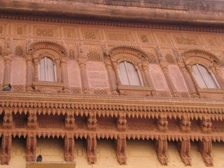 Architectural detail, Mehrangarh Fort