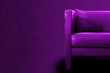 Gorgeous Purple Sofa